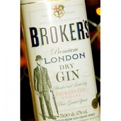 Broker's London Dry Strong Gin