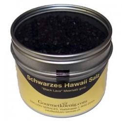 schwarzes Hawaiisalz Gourmet-Dose