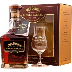 Jack Daniel's Single Barrel mit Glas