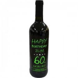 Swarovski Wein Happy Birthday zum 60