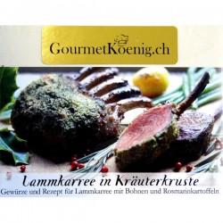 Lammkarree in Kräuterkruste