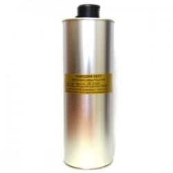 Popcornfett 1 Liter in Metalflasche