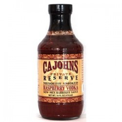 Cajohns Raspberry Vodka BBQ Sauce