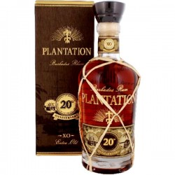 Plantation Barbados Extra Old 20th Anniversary Rum