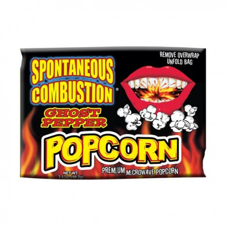 Ghost Pepper Popcorn