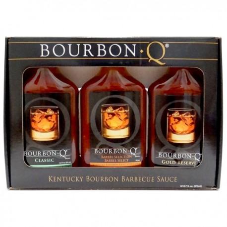Bourbon Q BBQ Saucen Set